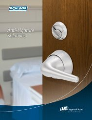 Anti-Ligature Solutions Brochure - Security Technologies