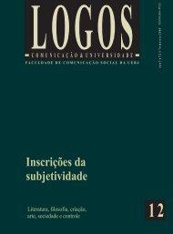Inscrições da subjetividade - Logos - UERJ