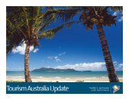Download Andrew's presentation - Tourism Australia
