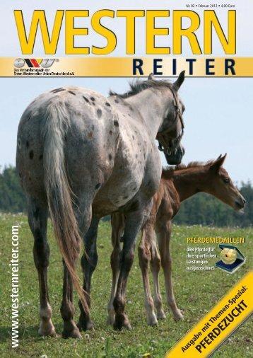 Nr. 02 Februar 2012 - Erste Westernreiter Union Deutschland e.V.
