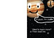 My Planet Jupiter Brochure for Primary Students