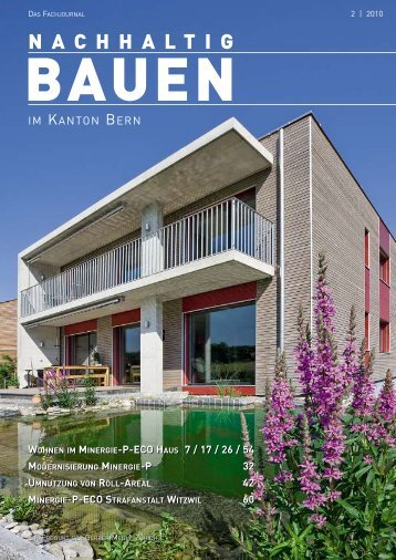 Nachhaltig Bauen im Kanton Bern 2/2010 - Gerber Media