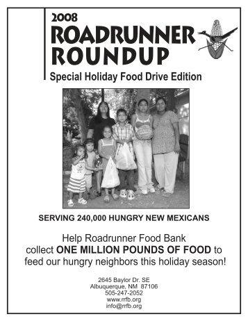 Autumn 2008 - Roadrunner Food Bank