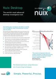 Nuix Desktop - Pyramid Cyber Security & Forensic