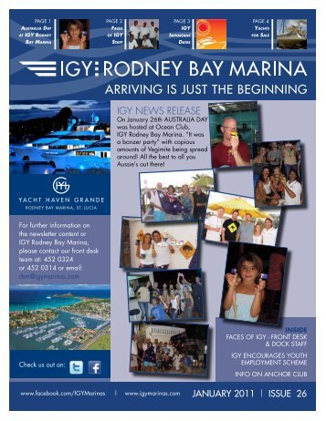 yachts for sale - IGY Rodney Bay Marina