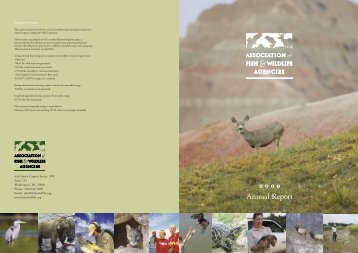 2006 Annual Report - Association of Fish and Wildlife Agencies