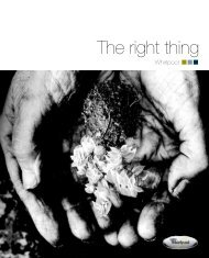 The right thing - Whirlpool