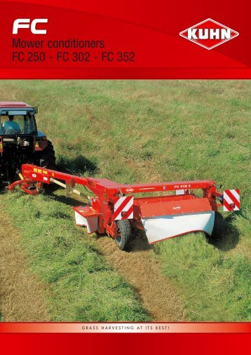 KUHN Trailed Mower Conditioners - Interstate Tractor