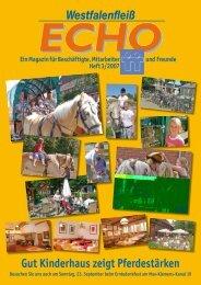 Westfalenfleiß Gut Kinderhaus zeigt Pferdestärken