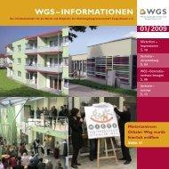 WGS – INFORMATIONEN - Wgs Sgh