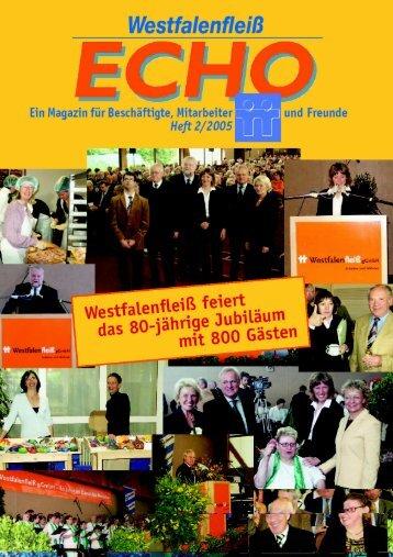 ECHO 2 / 2005 - Westfalenfleiß