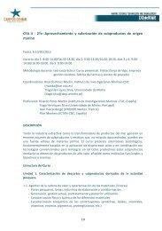 Aprovechamiento y valorización de subproductos ... - Campus do Mar