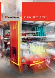 ANNUAL REPORT 2009 - Rosenbauer International AG