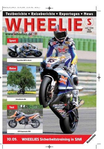 Reise - Wheelies