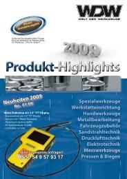 Neuheiten 2009 - Welt-der-Werkzeuge
