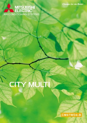 City Multi Catalogue-VRF1 - Calcuttayellowpages.com