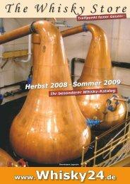 Herbst 2008 - Whisky