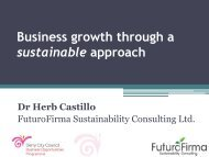 What is Sustainable Business? - Derry City Council