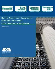 North American Indexed Universal Life Insurance ... - Shaw American