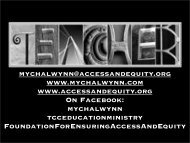 Black - Ensuring Access and Equity