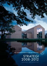 strategi 2008-2012 - Institutleder til klinisk medicin - Aarhus Universitet