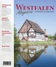 Winterausgabe 2011 (pdf) - Westfalen Gastro