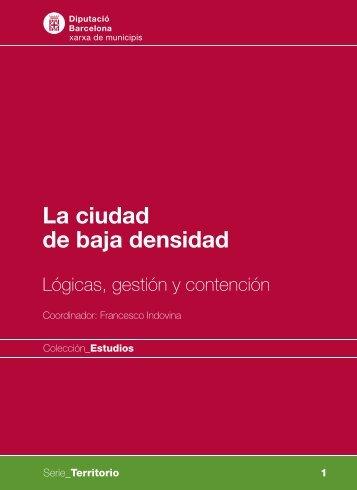 La ciudad de baja densidad - Diputació de Barcelona