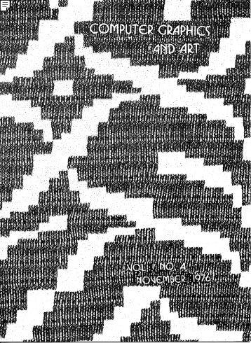Computer graphics and art nov1976