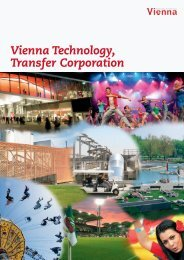VTTC Exports Viennese Know-How - Wien  Holding