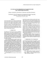An angular transform of gait sequences for gait assisted recognition ...