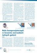 Leczenie owrzodzeń żylnych goleni cz.3 - Spondylus - Page 6