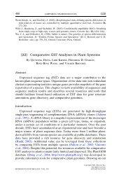 comparative EST.pdf - Purdue Genomics Wiki