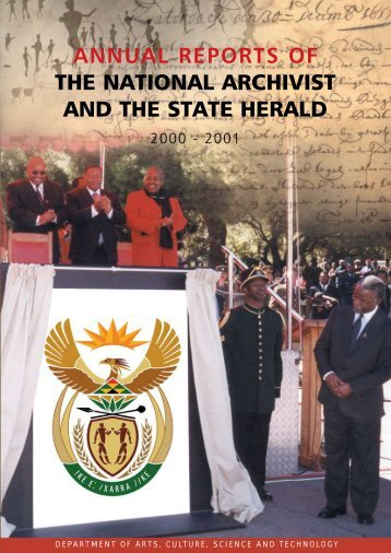 Annual Report - National Archives of South Africa