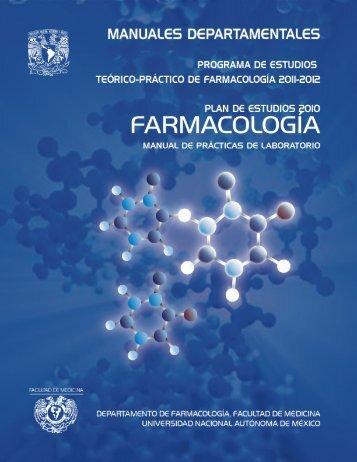 Departamento de Farmacología - UNAM