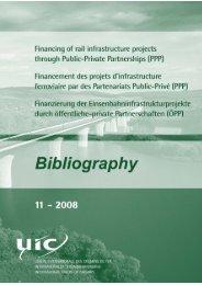 Financement des projets d'infrastructure ferroviaire par des - UIC