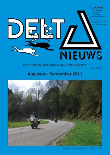 Augustus - September 2011 - Delta Duikteam