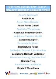Badbuffet Franz Höller Wellness Vital (Neueröffnung ... - Wieselburg