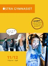 GY2011 - Östra gymnasiet