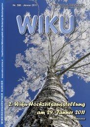 2. Wiku-Hochzeitsausstellung am 29. Jänner 2011
