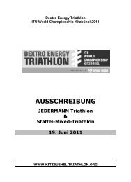 Dextro Energy Triathlon – ITU World Championship Series