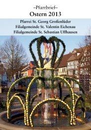 Ostern 2013 - Pfarrgemeinde St. Georg, Großenlüder
