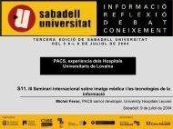 PACS - Sabadell Universitat