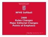 NF Rules Meeting Power Point Presentation - Michigan High School ...