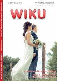 3. WIKU-Hochzeitsausstellung am 28. Jänner 2012