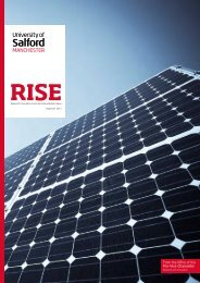 RISE - May-June, 2012 - University of Salford