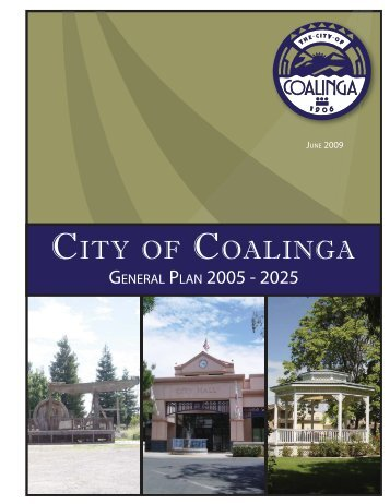 General Plan Update 2025 - The City of Coalinga