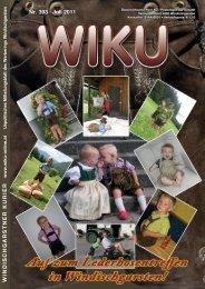Nr. 393 · Juli 2011 WINDISCHGARSTNER ... - WIKU-Homepage