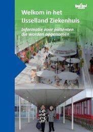 opnameboekje - IJsselland Ziekenhuis