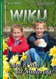 Nr. 391 · Mai 2011 WINDISCHGARSTNER ... - WIKU-Homepage