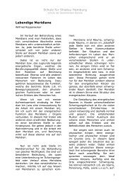 Lebendige Meridiane von Wilfried Rappenecker - Shiatsu-Netz